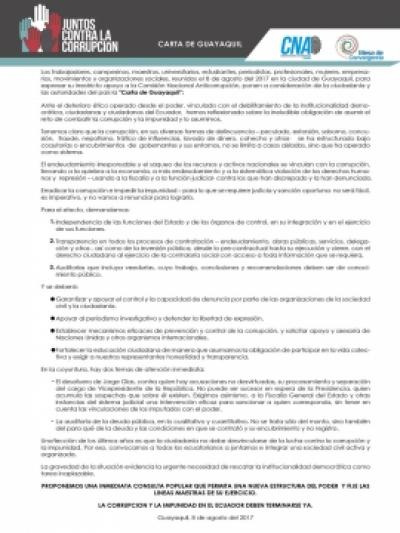 Carta de Guayaquil