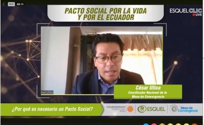 El país necesita un Pacto Social por la Vida y por el Ecuador