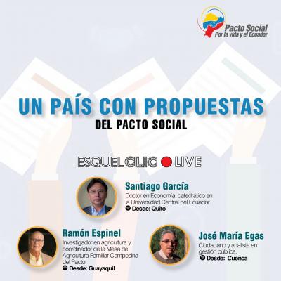 Un Pacto Social debe democratizar la vida y acortar las brechas