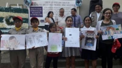 Concurso de Dibujo:  Niños dibujan el daño que deja la corrupción