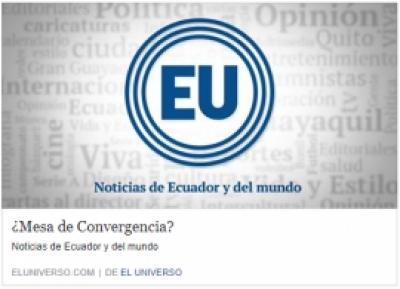 ¿Mesa de Convergencia?
