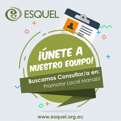 Consultor/a: Promotor Local Manabí
