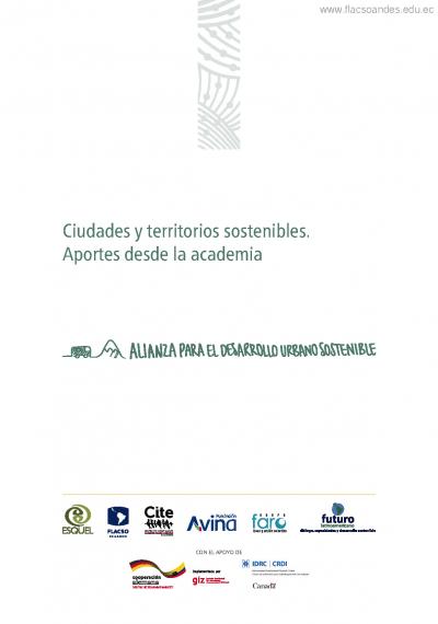 Ciudades y territorios sostenibles. Aportes desde la academia