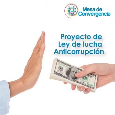 Pacto Social presenta Proyecto de Ley de lucha Anticorrupción