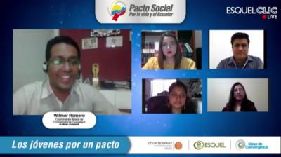 El acceso a la educación, el empleo joven y la alimentación de niños: tres temas que preocupan a los jóvenes dentro del Pacto Social