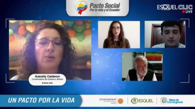 Violencia, educación y salud; temas claves del Pacto Social