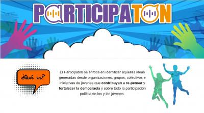 Participatón, activando las voces de las juventudes